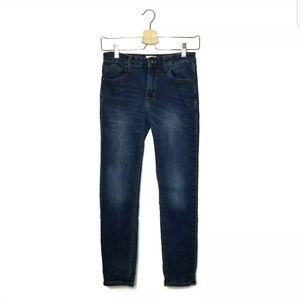 Hudson Girls Size 12 Jeans Skinny Mid Wash Denim